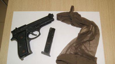 Pizzo, tenta rapina armato di scacciacani: arrestato