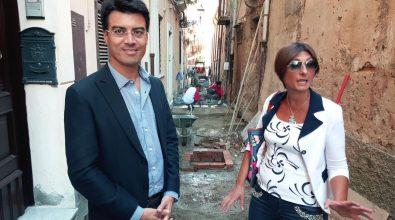 Pizzo, lavori rione Carmine. Callipo: «Completamento ad inizio 2016»