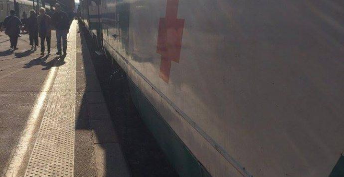 Aggiornamento – Ripartito il treno dell'Unitalsi con i volontari e i disabili vibonesi