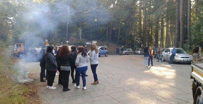 Fabrizia bloccata, in atto la protesta contro lo stato della viabilità