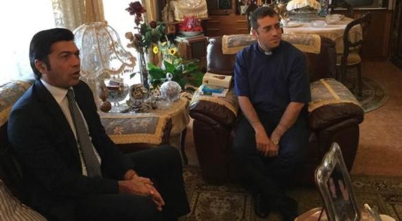Arturo Bova (Pd) incontra don La Torre: «Strategia intimidatoria contro la Diocesi»