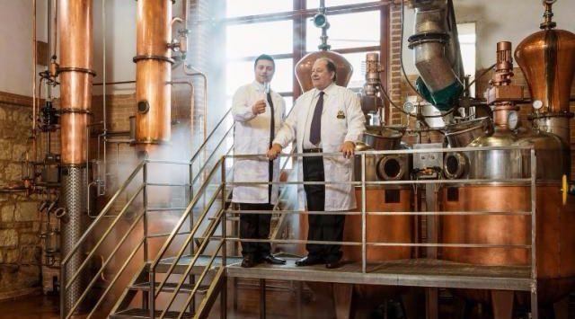 Premio Eccellenza Italiana alla distilleria Caffo