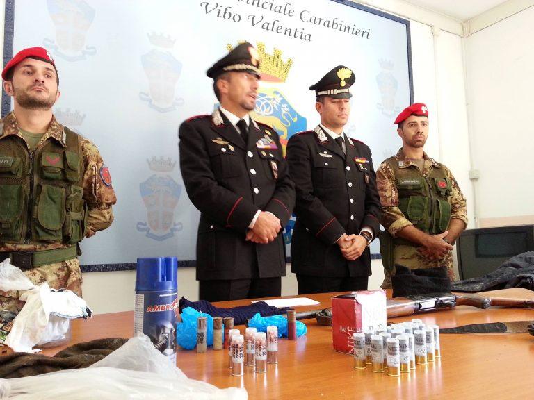 Detenzione di armi e munizioni, tre arresti a Soriano