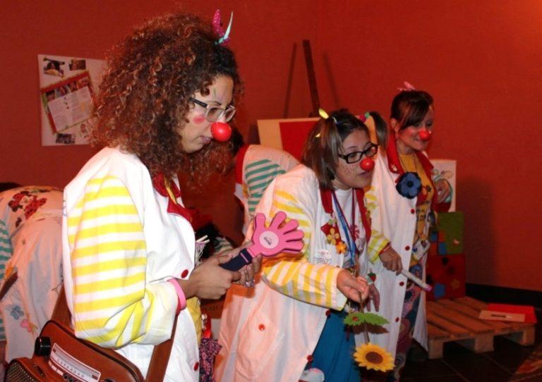 Spazio al gioco al TF, la Clownterapia irrompe con i suoi colori