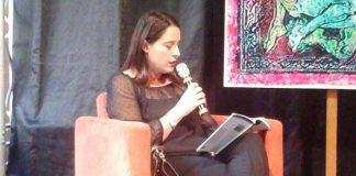 L'autrice Cristiana Buccarelli