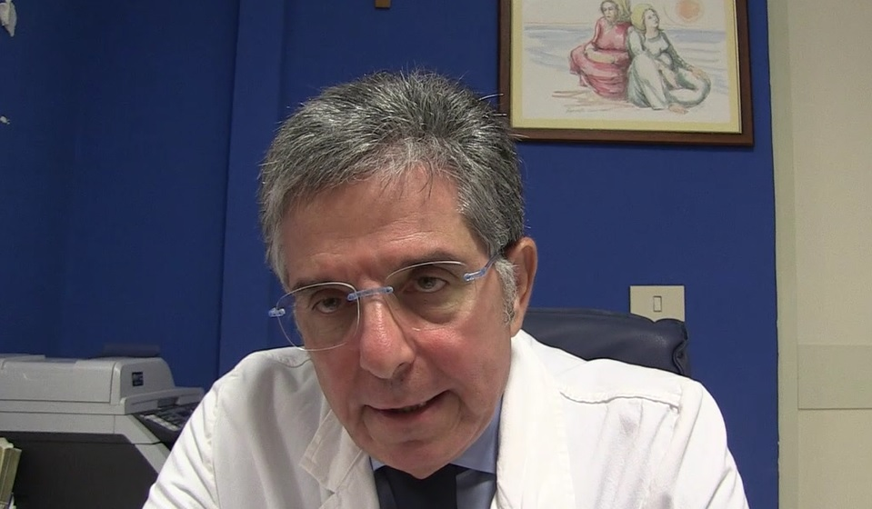 Il primario di Neurologia Domenico Consoli