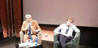 Da sinistra Giuseppe Soluri e Carlo Freccero