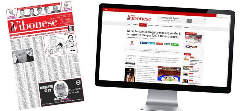 Il nuovo Vibonese, dalla carta al web alla riscoperta dei fatti