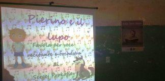 Una delle attività proposte agli alunni
