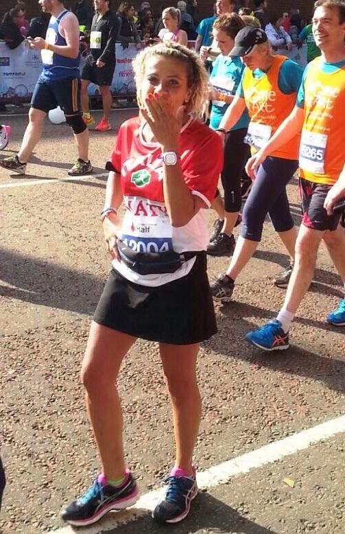 La runner Maria Teresa Rosano
