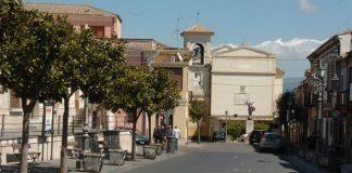 La piazza principale di Sant'Onofrio