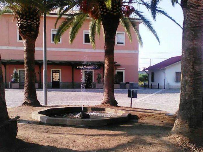 La stazione di Vibo Marina