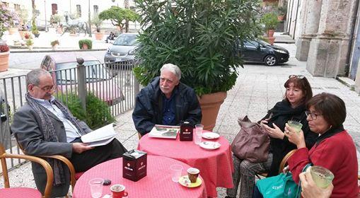 Vito Teti a Soriano a colloquio con altre personalità