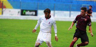 Il centrocampista Franco Da Dalt in azione