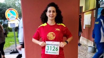 Corsa, bella prova di Anna Borello a Livorno