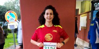 La giovane atleta Anna Borello