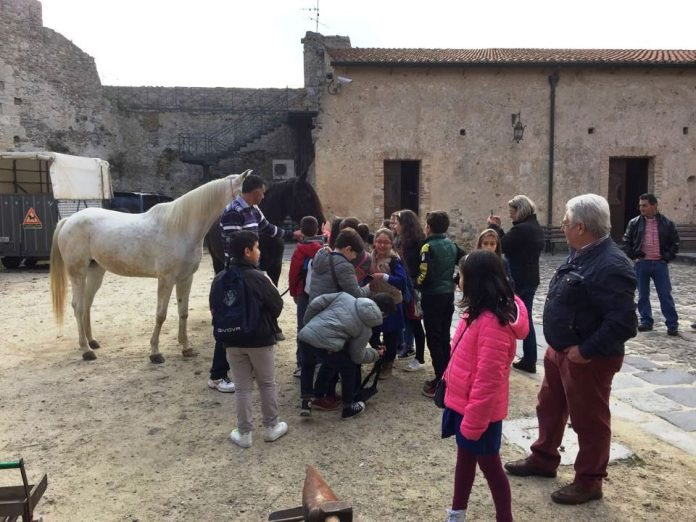 Una delle attività promosse dal Club Unesco al Castello di Vibo