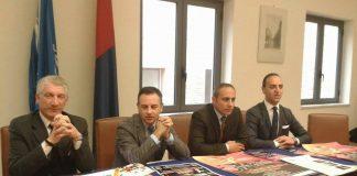La conferenza stampa ieri in Comune