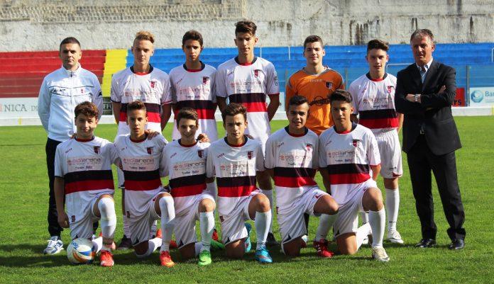 La squadra dei Giovanissimi regionali della Vibonese