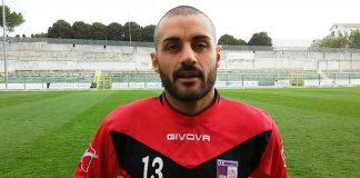 Il centrocampista Giovanni Ruscio