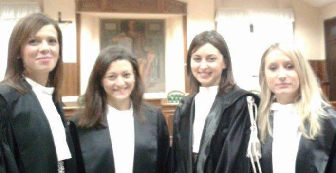 Sei nuovi magistrati da oggi in forza agli uffici giudiziari
