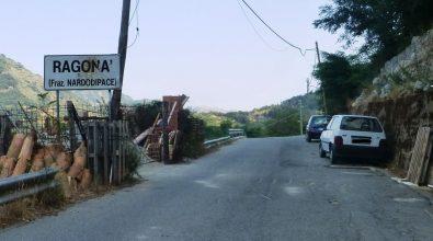 Crolla una casa a Ragonà, evacuata famiglia
