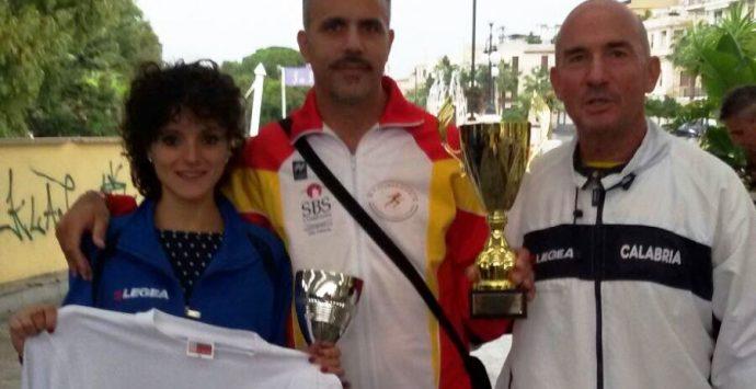 Chiara Raffaele campionessa regionale nella mezza maratona di Reggio