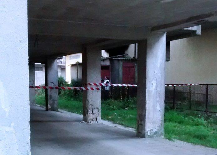 L'edificio evacuato a Serra San Bruno