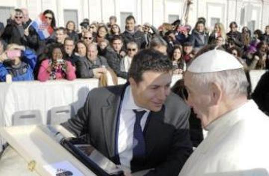"""Un amaro """"speciale"""" per Papa Francesco"""