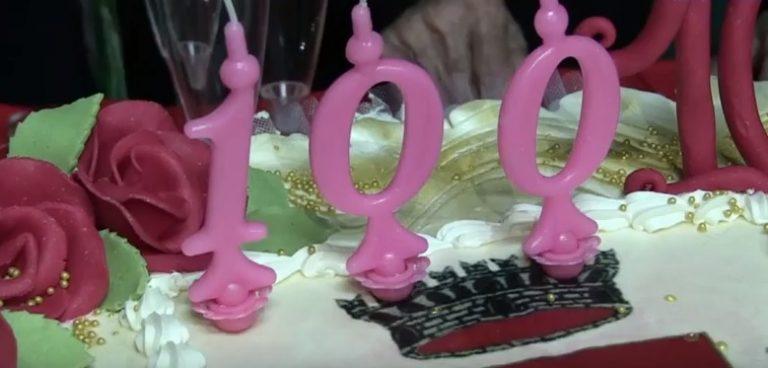 Dinami in festa per i 100 anni di nonna Chicca – VIDEO