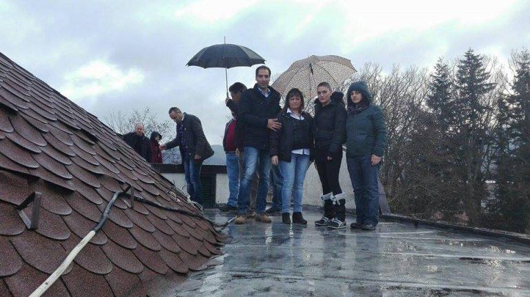 Parco delle Serre, tirocinanti sul tetto – VIDEO