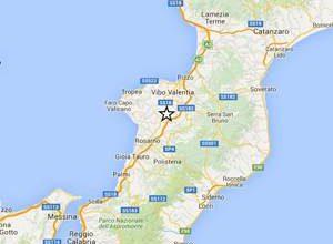 Terremoto di magnitudo 2.8 avvertito a Vibo