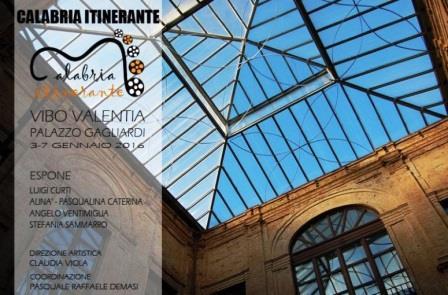 """""""Calabria itinerante"""" approda a Palazzo Gagliardi"""