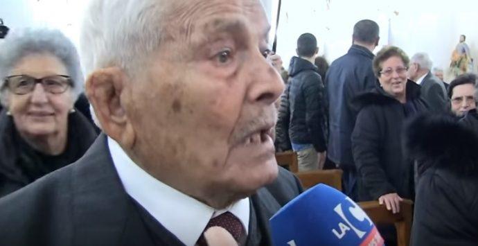 Briatico in festa per i cento anni di Giuseppe Melidoni – VIDEO