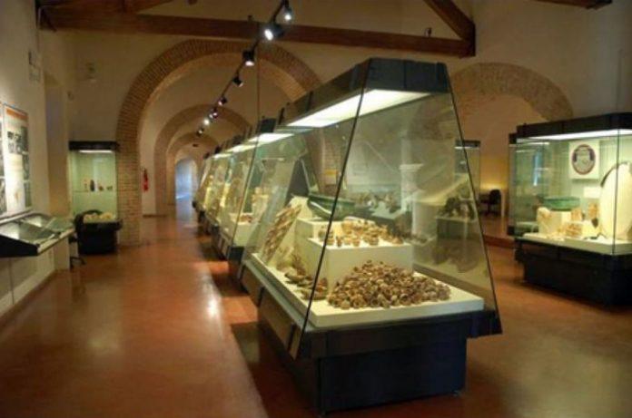 Una sala del Museo archeologico statale di Vibo