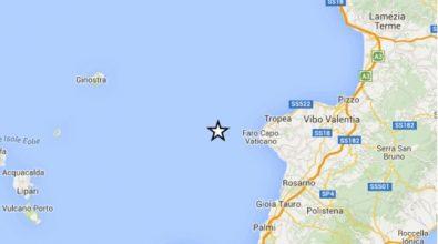 Terremoto al largo di Capo Vaticano, nessun danno sulla terraferma