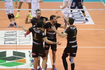 Tonno Callipo schiacciasassi, Siena sconfitta a domicilio