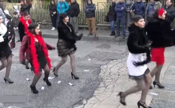 La sfilata di Carnevale a San Calogero