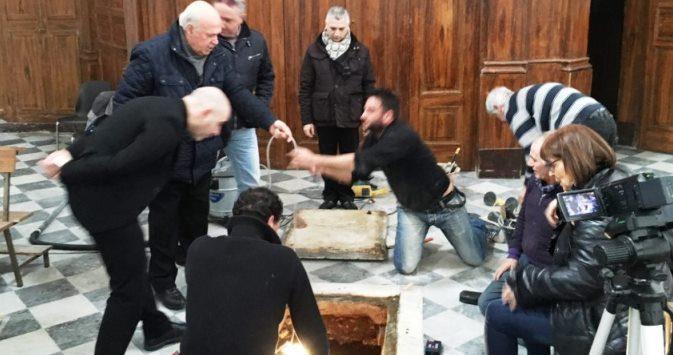 Aperta la cripta del Duomo di Pizzo, ma dei resti di Murat non c'è traccia