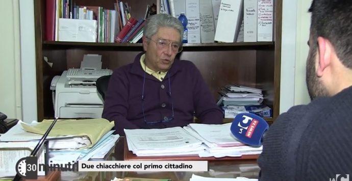 L'intervista completa al sindaco Costa: «Dopo la sofferenza Vibo troverà la serenità» – VIDEO
