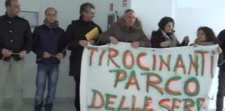 Una recente protesta alla Regione