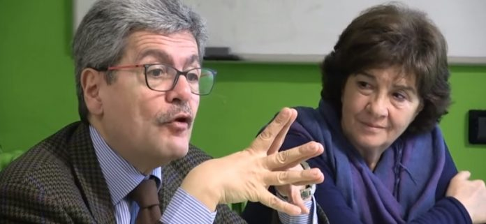 Mario Spagnuolo e Maria Salvia
