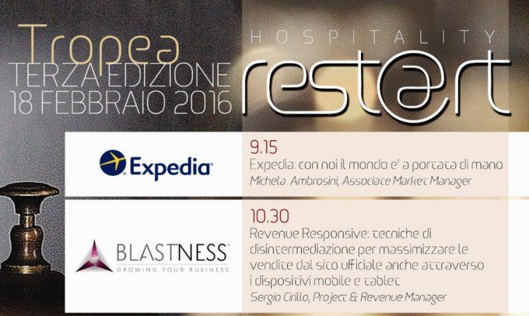 Hospitality Rest@art, a Tropea l'evento del turismo calabrese 2.0