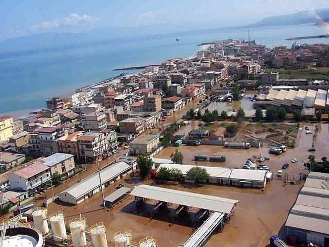 L'alluvione del 2006 a Vibo Marina