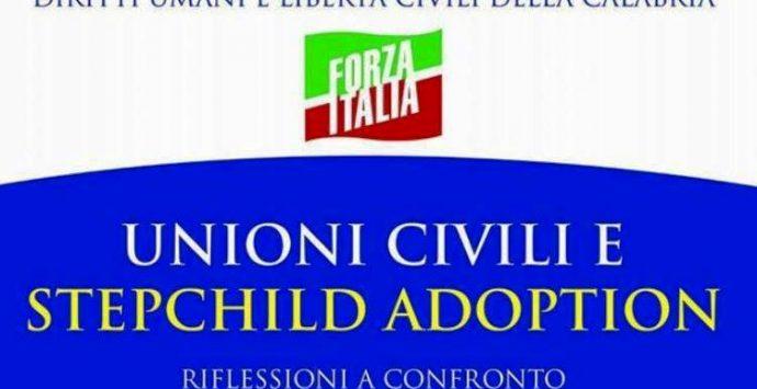 Unioni civili e Stepchild adoption, iniziativa di Forza Italia a Vibo