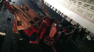 Strage sull'A3 nei pressi di Mileto, morti quattro giovani