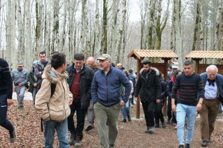 Mongiana, presentato il percorso scientifico nel bosco del Marchesale