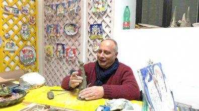 Antonio Montesanti porta l'arte di Pizzo alla Fiera del consumo sostenibile