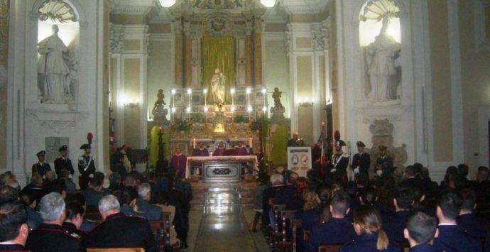 Pasqua, celebrata a Vibo la messa interforze