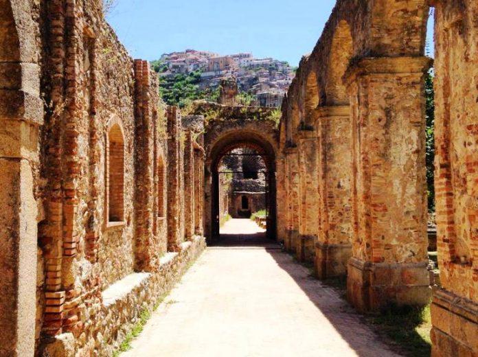 Il chiostro conventuale di Soriano